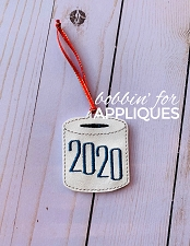 2020 Commemorative Ornament - Toilet Paper Gag Gift